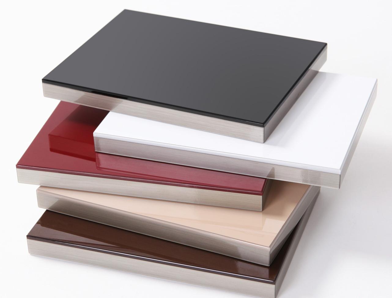 Hệ thống cánh tủ bếp inox kitcheneu làm bằng acrylic nhập khẩu